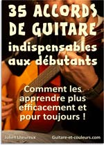 35 accords de guitare pour d�butants